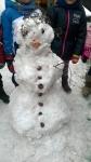 bałwanek śniegowy